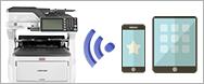 OKI複合機-無線LAN標準対応